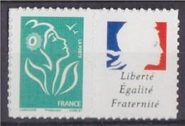 Timbre Lamouche TVP Phil@poste Autocollant YT N°4048S Spink (N°67) Personnalisation Marianne Liberté Egalité Fraternité
