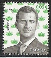 2017-ED. 5108 - Serie Basica. S.M. El Rey Felipe VI  0,05 Cts.-NUEVO