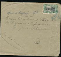 BELGIAN CONGO MOLS 19e SIECLE  50C VERT LEO 1897 VERS GAND