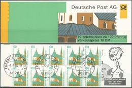 DEUTSCHLAND 1995 Mi-Nr. Markenheft 32 O Used - Aus ABO