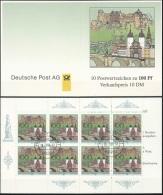DEUTSCHLAND 1996 Mi-Nr. Markenheft 33 O Used - Aus ABO