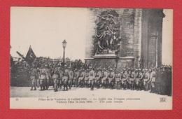 Fêtes De La Victoire --  Le Défilé Des Troupes Polonaises - Guerra 1914-18