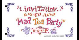 Alderney 2015 Pack Miniature Sheet - Alice's Adventures In Wonderland