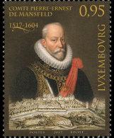 Luxembourg 2017 Set - 500th Anniversary Of Count Peter-Ernest Von Mansfeld