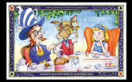 Alderney 2015 Miniature Sheet - Alice's Adventures In Wonderland