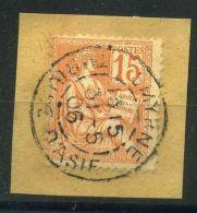 FRANCE ( POSTE ) :Y&T N°  117  BEAU C A D  DE  SMYRNE , A  VOIR .