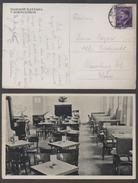 ROKYCANECH - III REICH - BOHEME & MORAVIE / 1942 CARTE POSTALE ILLUSTREE - RESTAURANT (ref  LE1204)