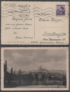 PRAGUE - PRAHA - III REICH - BOHEME & MORAVIE / 1943 CARTE POSTALE ILLUSTREE (ref  LE1203)