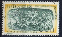 PIA - CECOSLOVACCHIA  - 1957 : 13° Anniversario Dell' Insurrezione Slovacca : Fiori - Edelweiss    -  (Yv 925 )