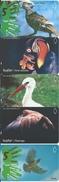 5 Télécartes Turquie Turc Oiseau Bird Télécarte Phonecard Telefonkarten (752) - Turquie