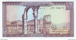 LEBANON 10 LIVRES 1986 P-63f UNC [ LB503i ] - Liban