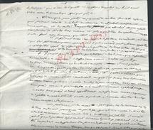 MANUSCRIT ISSOIRE 1780 AFFAIRE MICHEL MAIGNE 2 PAGES - Manoscritti