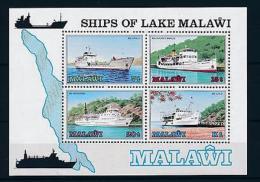 [50840] Malawi 1985 Ships Boats MNH Sheet