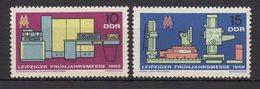 DDR / Leipziger Frühjahrsmesse / MiNr. 1159, 1160