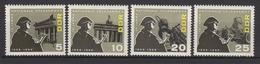 DDR / 10 Jahre Nationale Volksarmee (NVA) / MiNr. 1161-1164