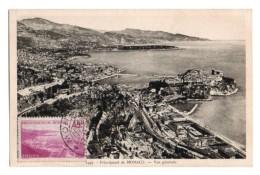 (Monaco) 056, Carte Maximum, Vue Générale - Monaco