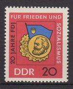 DDR / 20 Jahre Freie Deutsche Jugend (FDJ) / MiNr. 1167