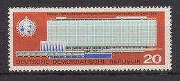 DDR / Einweihung Des Neuen Verwaltungsgebäudes Der Weltgesundheitsorganisation (WHO) / MiNr. 1178