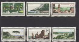 DDR / Natur- Und Landschaftsgebiete / MiNr. 1179-1184