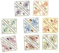 1957 - Dominicana 469/73 + PA 114/16 Olimpiadi