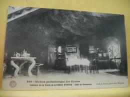 B7 5118 - 24 STATION PREHISTORIQUE DES EYZIES - INTERIEUR DE LA GROTTE DE LA GORGE D'ENFER - SALLE DU RESTAURANT - Altri Comuni