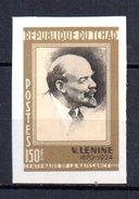 Sello Nº  223 S/d  Tchad Lenin