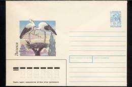 1994. Ukraine. Cover. Storks (two Stork Nest-builders). Designer. I. Bychenko. No. 34