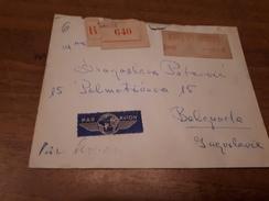 Old Letter - France