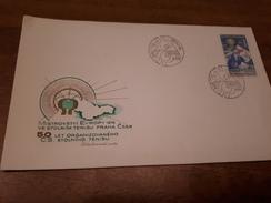 Old Letter - Czechoslovakia, Table Tennis