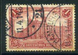 ALLEMAGNE ( POSTE ) :Y&T N°  76  TIMBRE  BIEN  OBLITRE , A  VOIR . - Gebraucht