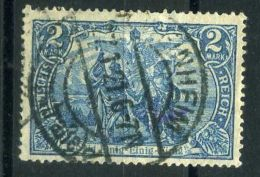 ALLEMAGNE ( POSTE ) :Y&T N°  93  TIMBRE  BIEN  OBLITRE , A  VOIR .