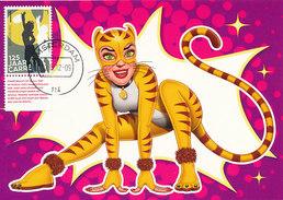 D30040 CARTE MAXIMUM CARD FD 2012 NETHERLANDS - MUSICAL CATS THEATER CARRÉ AMSTERDAM CP ORIGINAL