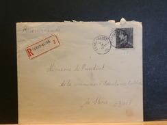 69/003   LETTRE RECOMM.  1939  FEXHE-SLINS - 1936-1951 Poortman
