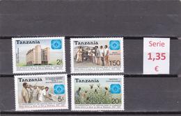 Tanzania  -  Serie Completa  Nueva**   -  5/4893