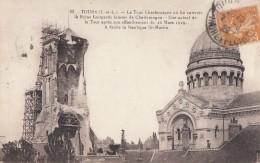CPA - Tours - La Tour Charlemagne - Etat Actuel De La Tour Après Son Effondrement Du 26 Mars 1928 - Tours