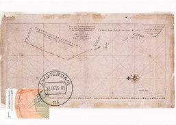 "D30047 CARTE MAXIMUM CARD 2016 NETHERLANDS - DIRK HARTOG ISLAND NEAR AUSTRALIA DISCOVERY BY THE ""EENDRACHT"" CP ORIGINAL - Aardrijkskunde"