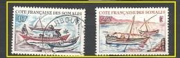 COSTA DEI SOMALI , COTE SOMALI   1964 Ships            * /  Used - Gebruikt