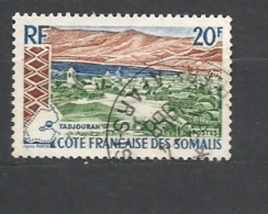 COSTA DEI SOMALI , COTE SOMALI  1965 Landscapes          * /  Used - Gebruikt