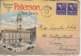 New Jersey Paterson Map Of 16 Foto's - Paterson