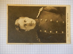 CPA - BELGIQUE - HM THE KING OF THE BELGIANS - EDIT RAPHAEL TUCK - R1465 - Zonder Classificatie
