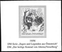 """Austria/Autriche: Prova Per La Stampa, Proof For Printing, épreuve Pour L'impression, """"San Corrado Di Altems"""""""