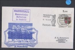 Briefumschlag Mit Schiffsstempel      Mir