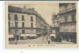 44 NANTES Place Delorme , Bande De Timbres Cérès , Voiture  Devant Façade Commerce Rineau - Nantes