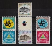 Nicaragua 1958, Complete Set, MNH