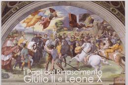 2013 Vaticano - Papi Del Rinascimento Giulio II Leone X Folder