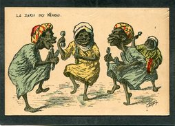 CPA - Illustration CHAGNY - La Danse Des Négros