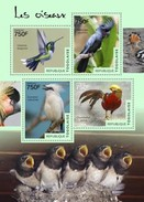 MDB-BK8-481-2 MINT PF/MNH ¤ TOGOLAISE  2014 4w In Serie  ¤ BIRDS OF THE WORLD OISEAUX BIRDS AVES VOGELS VÖGEL