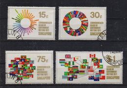 Singapore 1971, Flags, Complete Set, Vfu. Cv 13 Euro