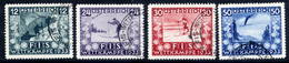 AUSTRIA 1933 Ski Championship Fund Used.  Michel 551-54 - 1918-1945 1st Republic
