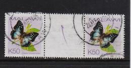 Malawi 2002, Gutterpair, Butterfly, Minr 719, Vfu